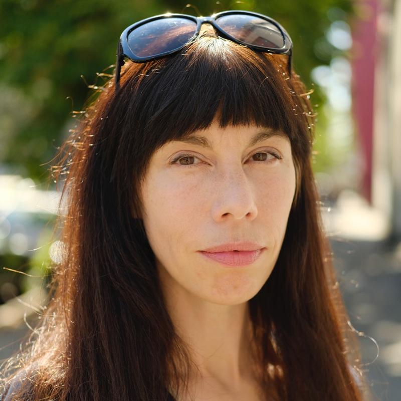 Patricia Caspari Autorenportrait